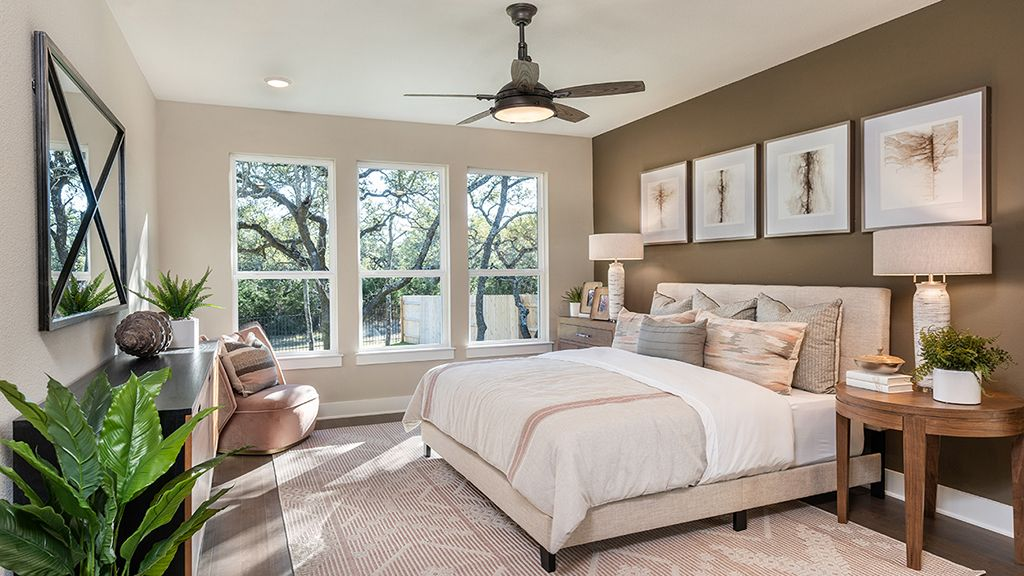 Bedroom featured in the Garnet By Taylor Morrison in Austin, TX