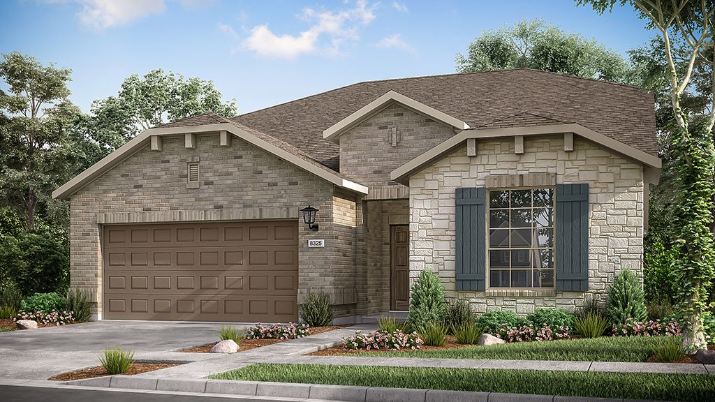 Exterior featured in the Sherwood By Taylor Morrison in Austin, TX