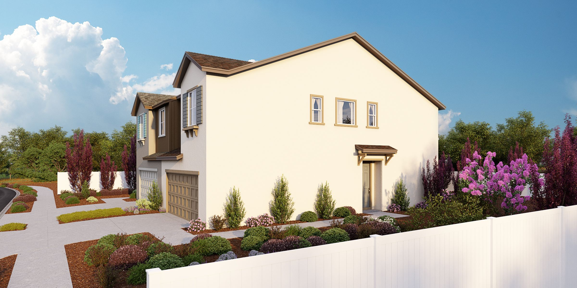 Exterior featured in the Residence 1 By Taylor Morrison in Oakland-Alameda, CA
