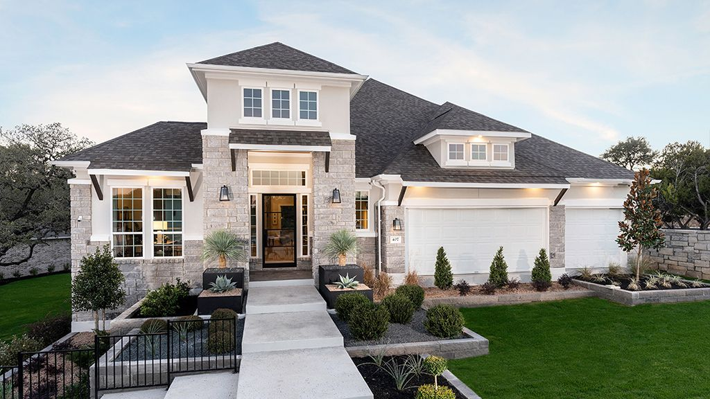 Exterior featured in the Artisan By Taylor Morrison in Austin, TX