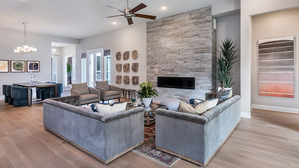 Living Area featured in the Artisan By Taylor Morrison in Austin, TX