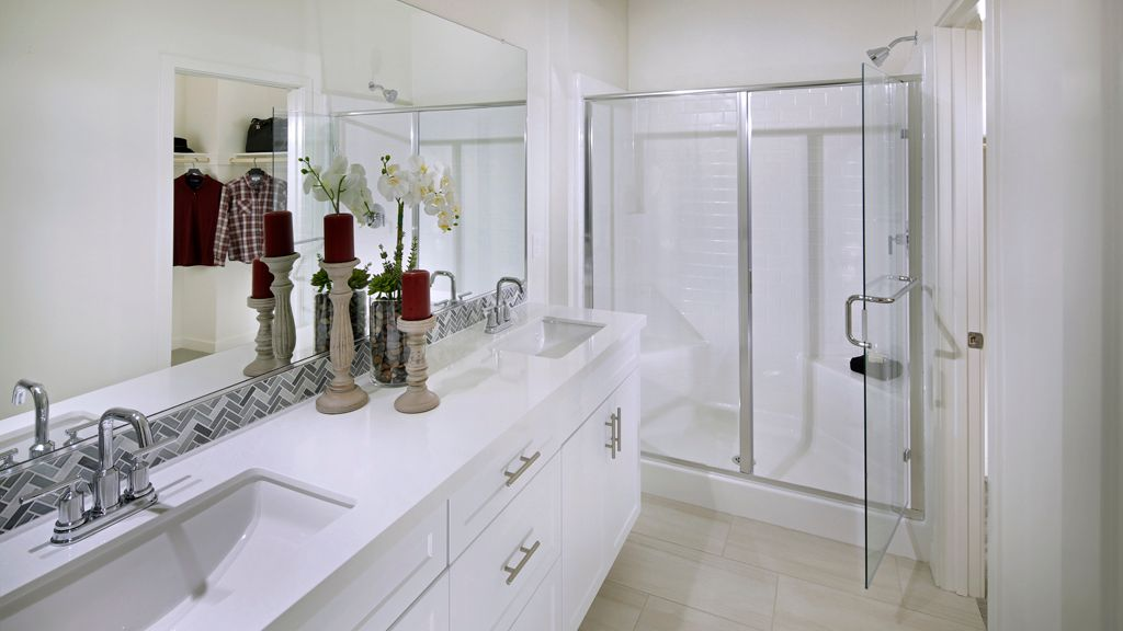 Bathroom featured in the Plan 3 By Taylor Morrison in San Diego, CA