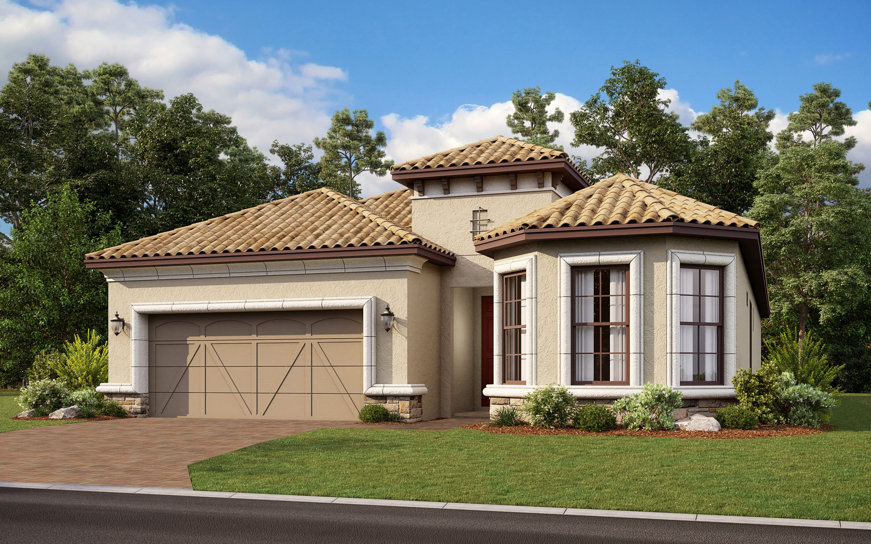 Exterior featured in the Azzurro By Taylor Morrison in Sarasota-Bradenton, FL