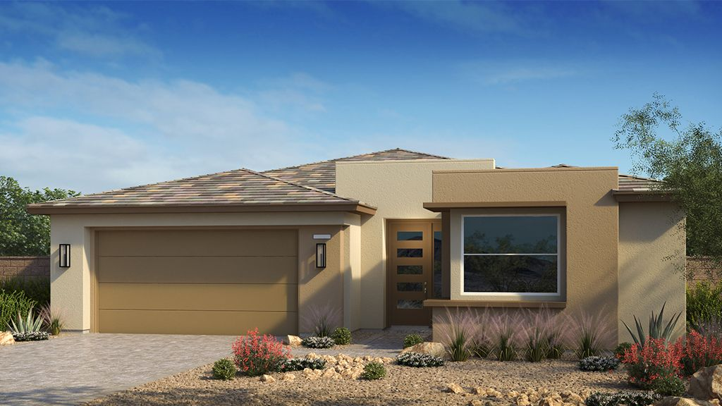 Exterior featured in the Onyx Plan 2 By Taylor Morrison in Las Vegas, NV