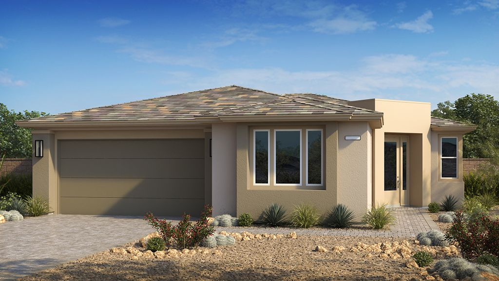 Exterior featured in the Onyx Plan 3 By Taylor Morrison in Las Vegas, NV