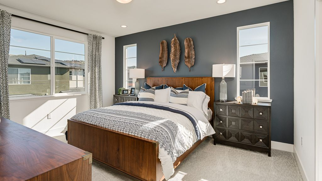 Bedroom featured in the Plan 4 WLH By Taylor Morrison in Oakland-Alameda, CA