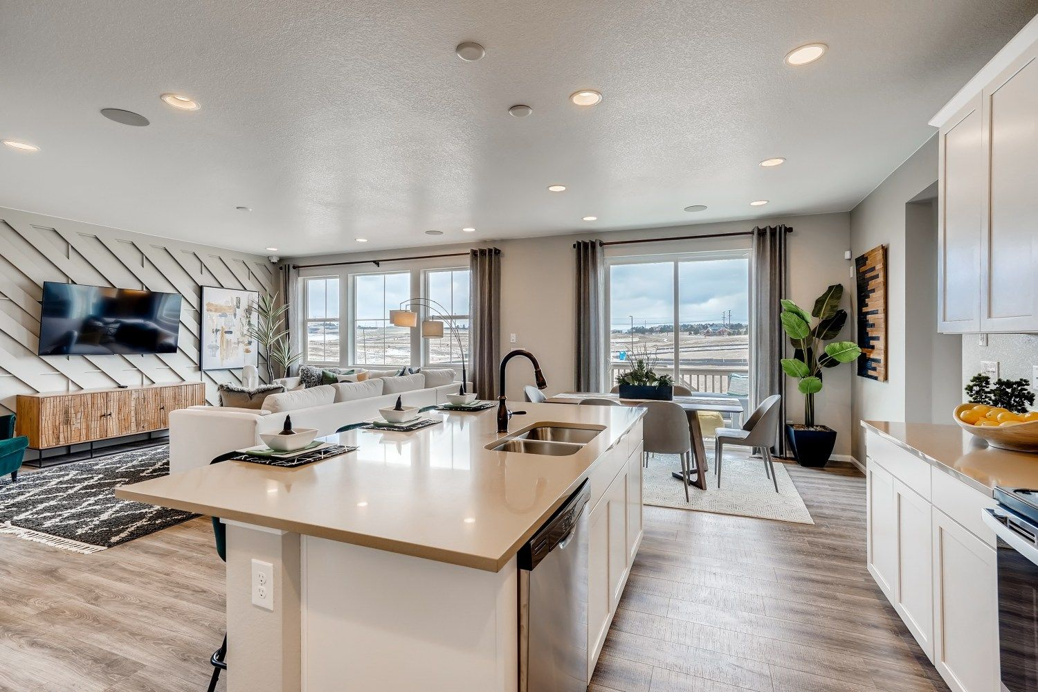 Kitchen featured in The Georgetown By Taylor Morrison in Denver, CO