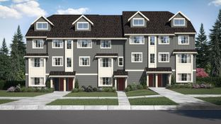 Plan 3 - Meadow View - Townhome Series: Tigard, Oregon - Taylor Morrison