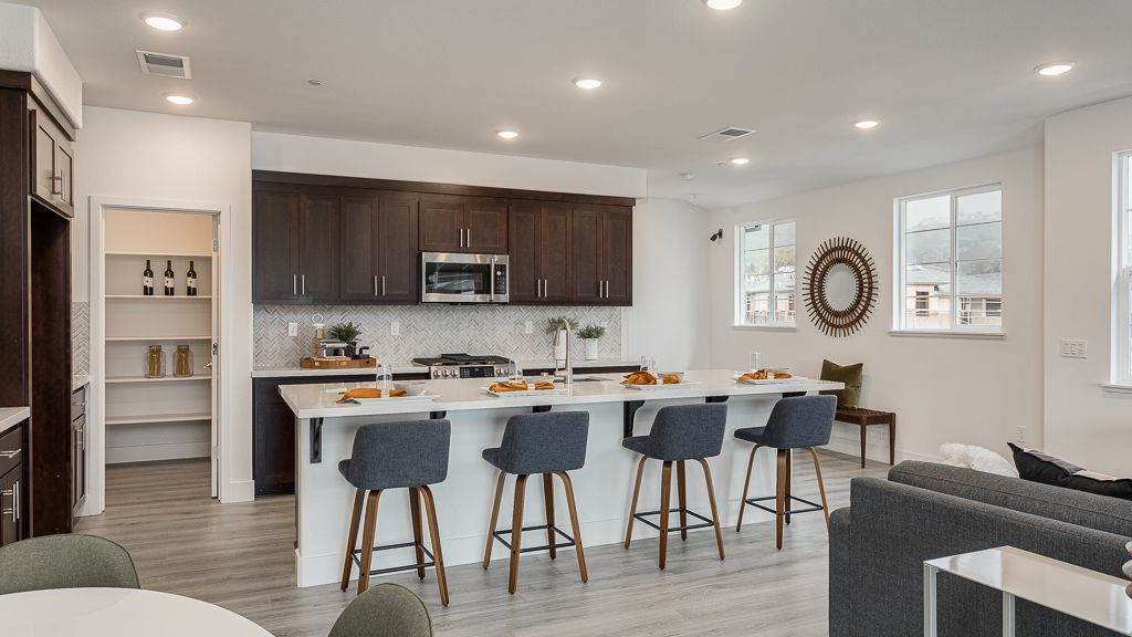 Kitchen featured in the Plan 3 WLH By Taylor Morrison in Oakland-Alameda, CA