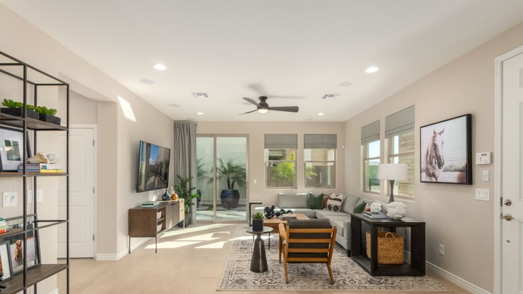 Living Area featured in the Plan CC-RM3 By Taylor Morrison in Phoenix-Mesa, AZ
