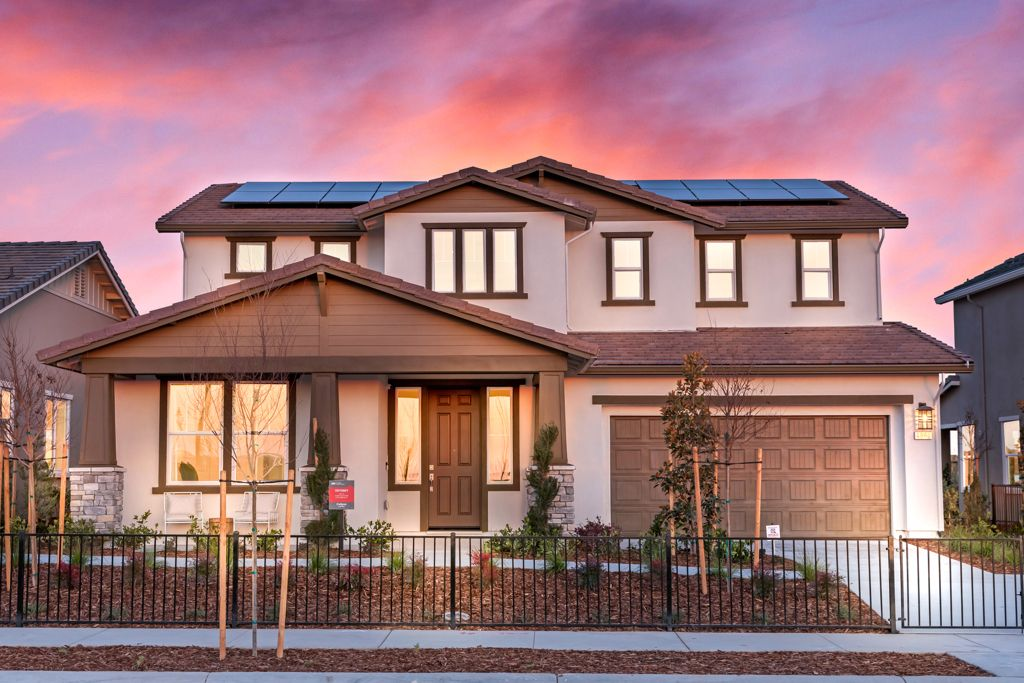 Exterior featured in the Odyssey Plan 13 By Taylor Morrison in Sacramento, CA