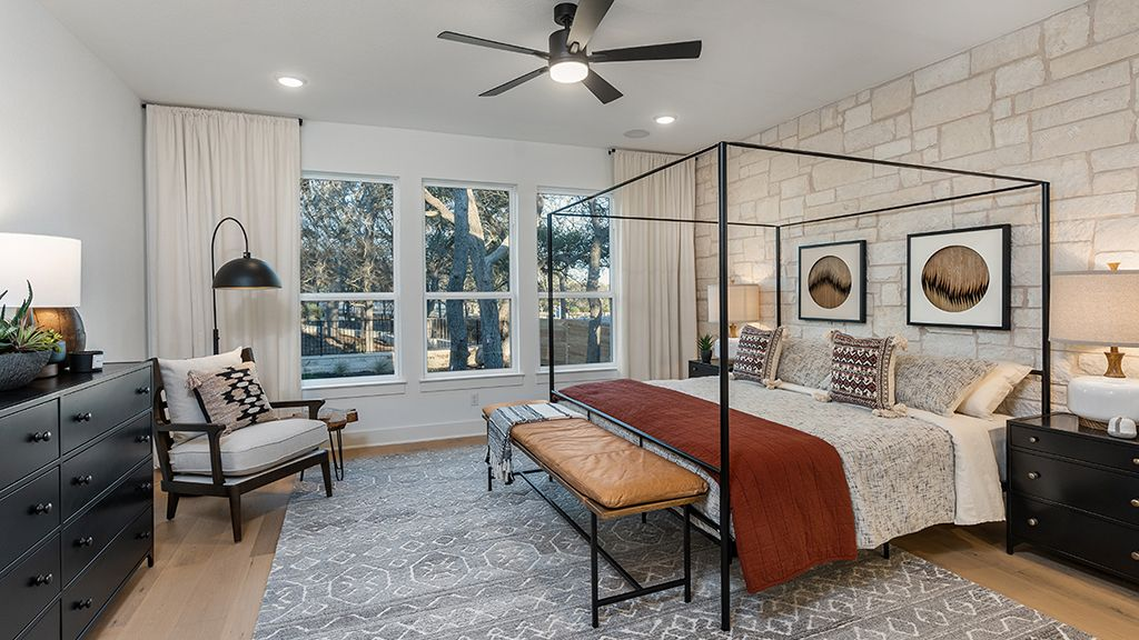 Bedroom featured in the Chambray By Taylor Morrison in Austin, TX