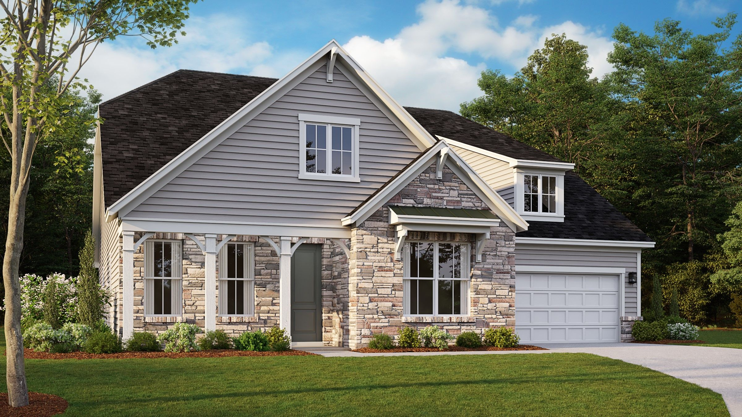 Exterior featured in the Pikewood By Taylor Morrison in Charlotte, NC