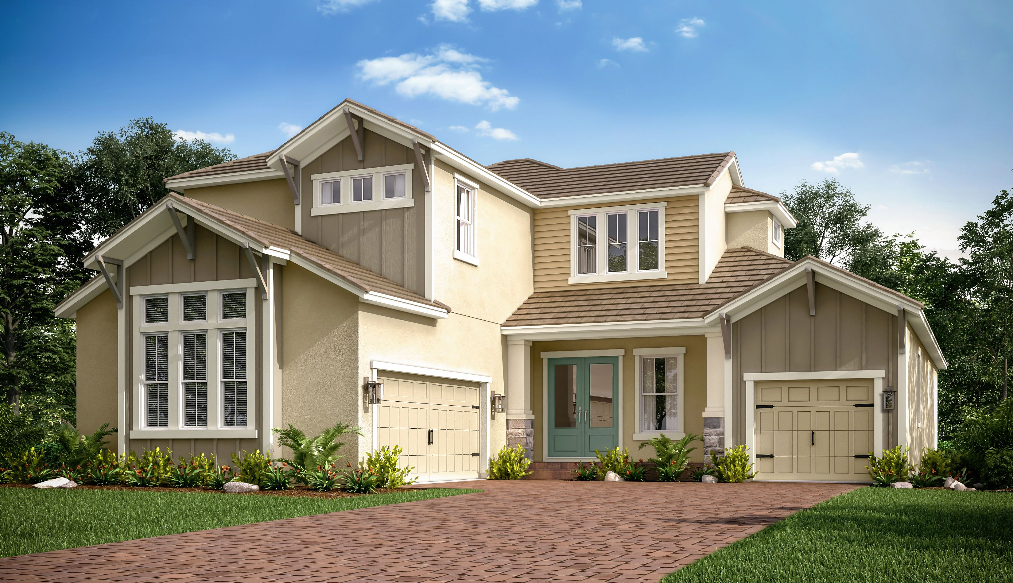 Exterior featured in the Tortola By Taylor Morrison in Tampa-St. Petersburg, FL