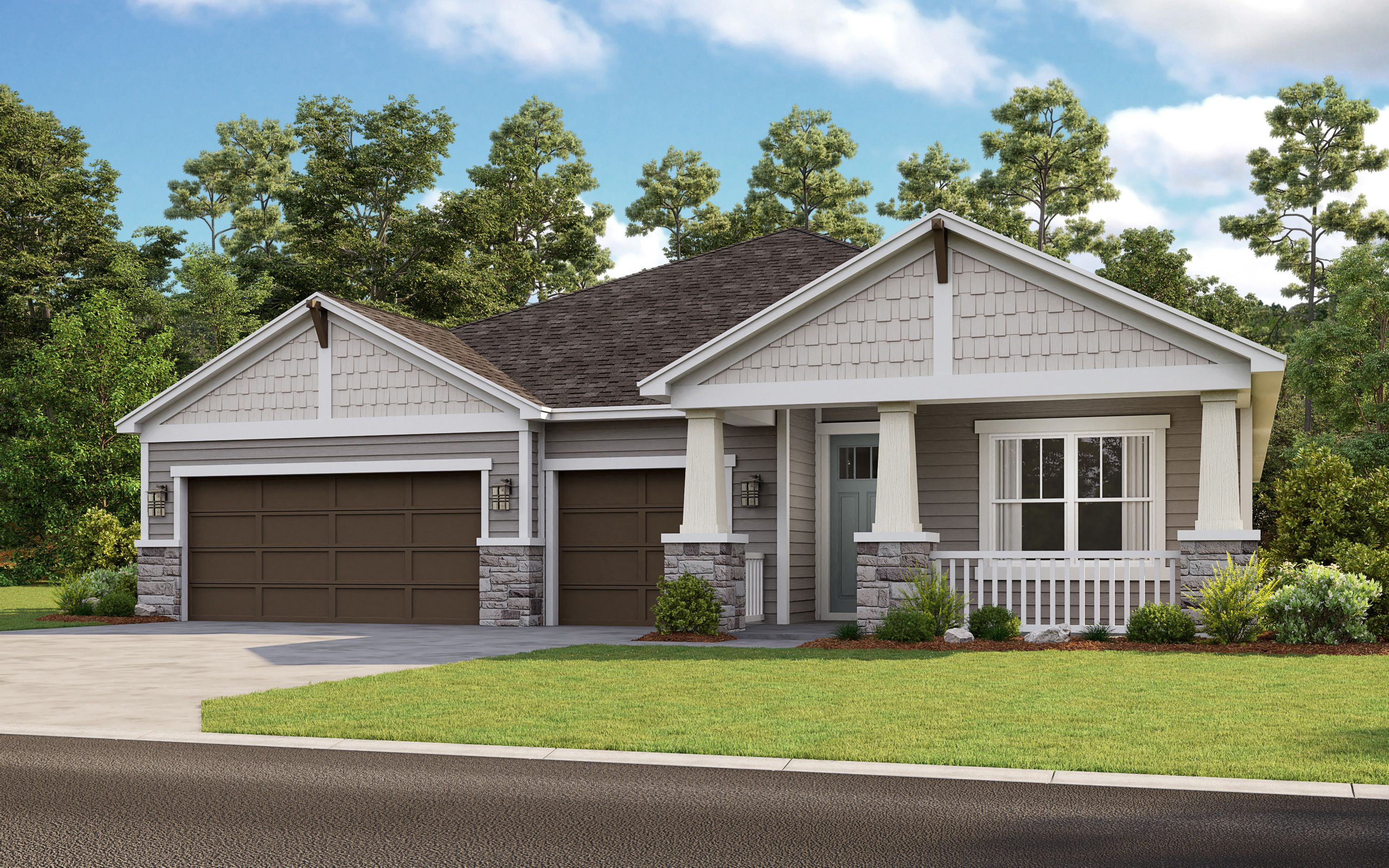 Exterior featured in the Magdalen By Taylor Morrison in Jacksonville-St. Augustine, FL