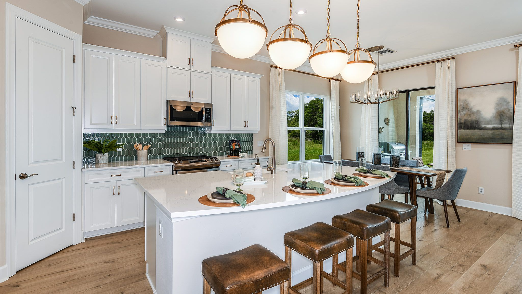 Kitchen featured in the Farnese Plan By Taylor Morrison in Naples, FL
