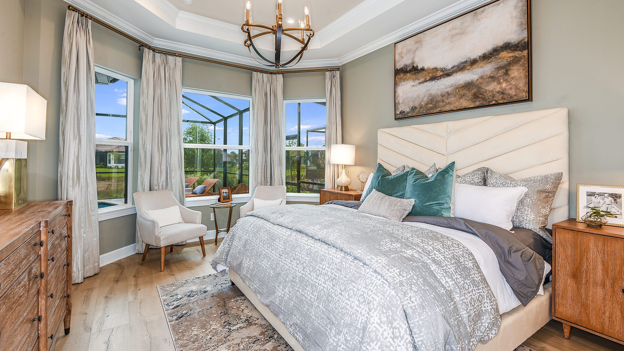 Bedroom featured in the Farnese Plan By Taylor Morrison in Naples, FL