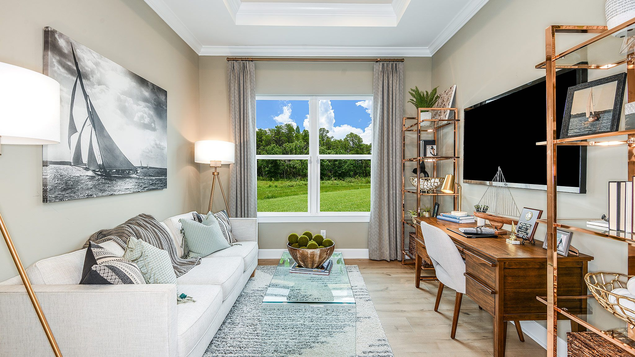 Living Area featured in the Farnese Plan By Taylor Morrison in Naples, FL