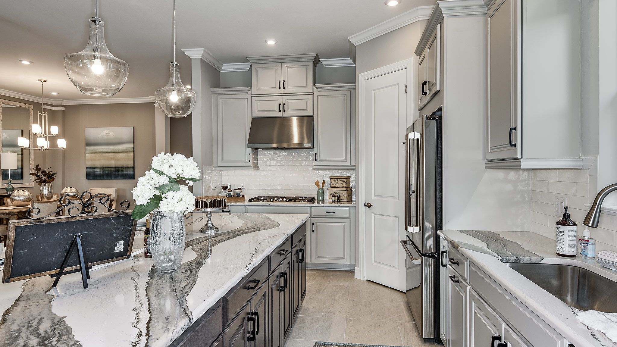 Kitchen featured in the Lazio Plan By Taylor Morrison in Naples, FL