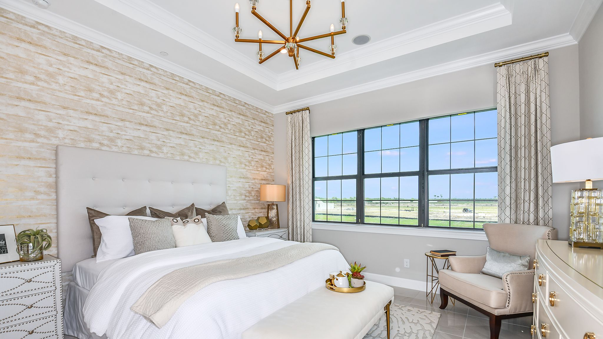 Bedroom featured in the Romano By Taylor Morrison in Naples, FL
