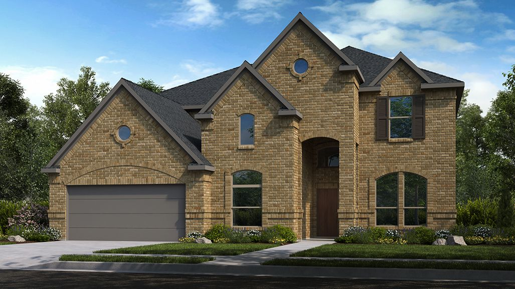 Exterior featured in the Carnelian By Taylor Morrison in Houston, TX