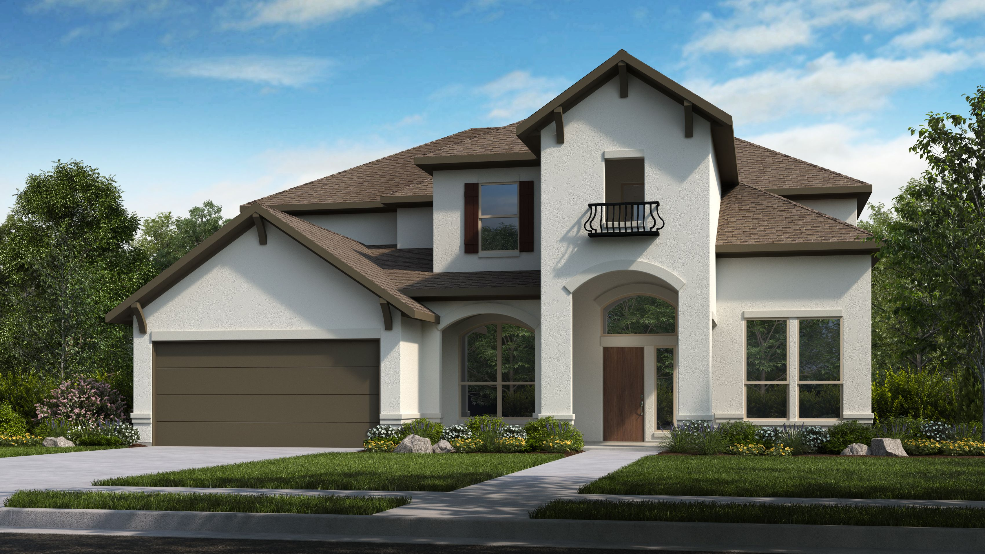 Exterior featured in the Larimar By Taylor Morrison in Houston, TX