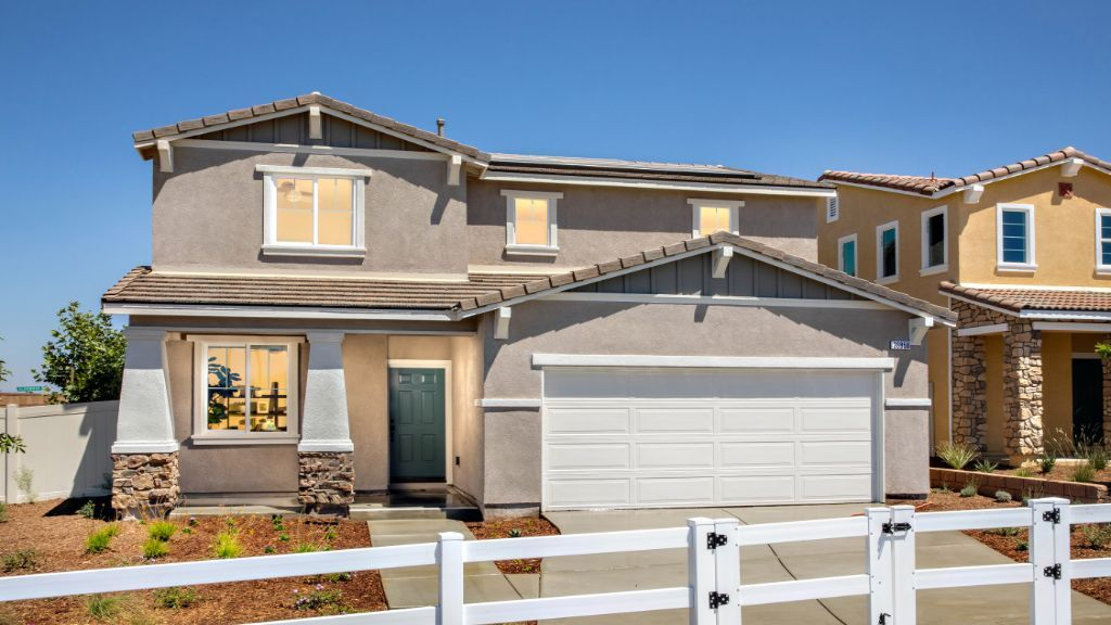Exterior featured in the Plan 3 By Taylor Morrison in Riverside-San Bernardino, CA