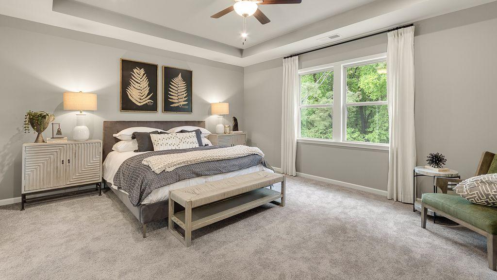 Bedroom featured in the Sheridan By Taylor Morrison in Atlanta, GA