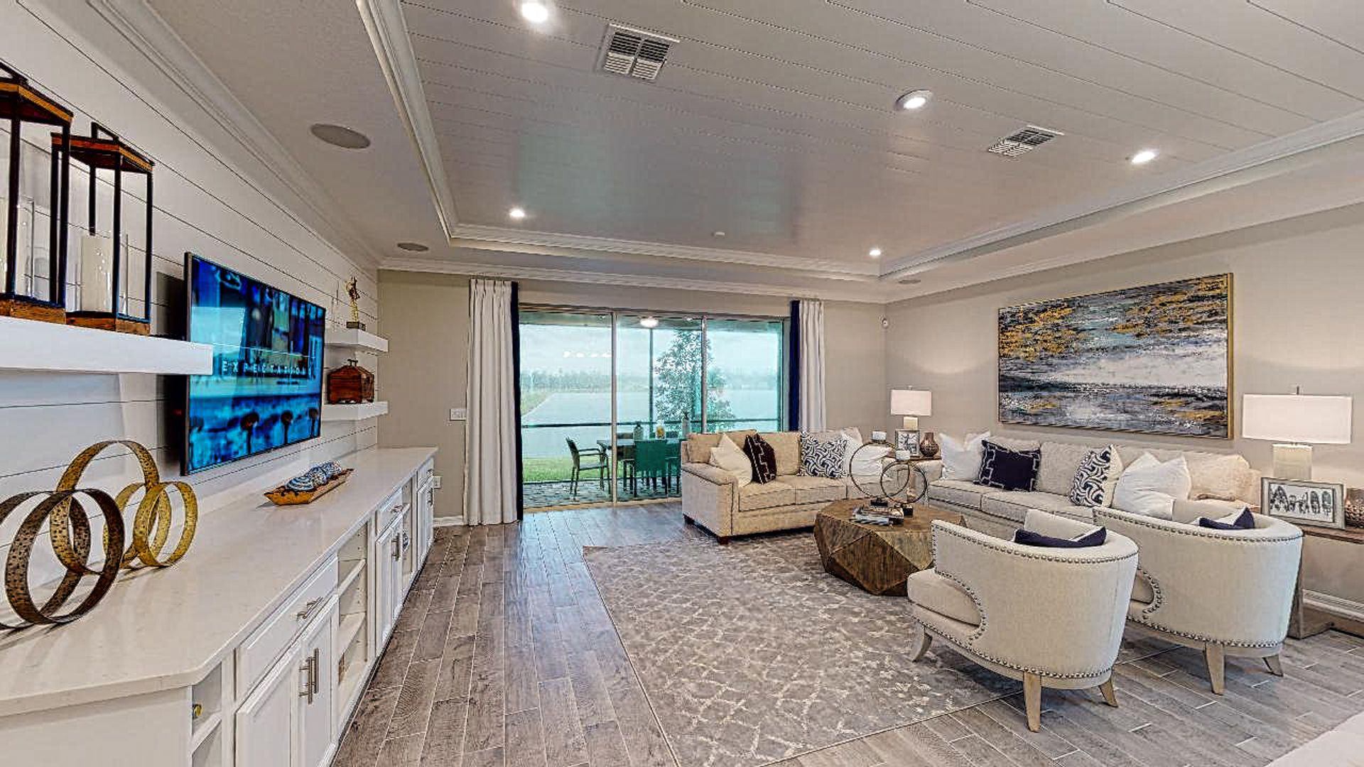 Living Area featured in the Magdalen By Taylor Morrison in Jacksonville-St. Augustine, FL