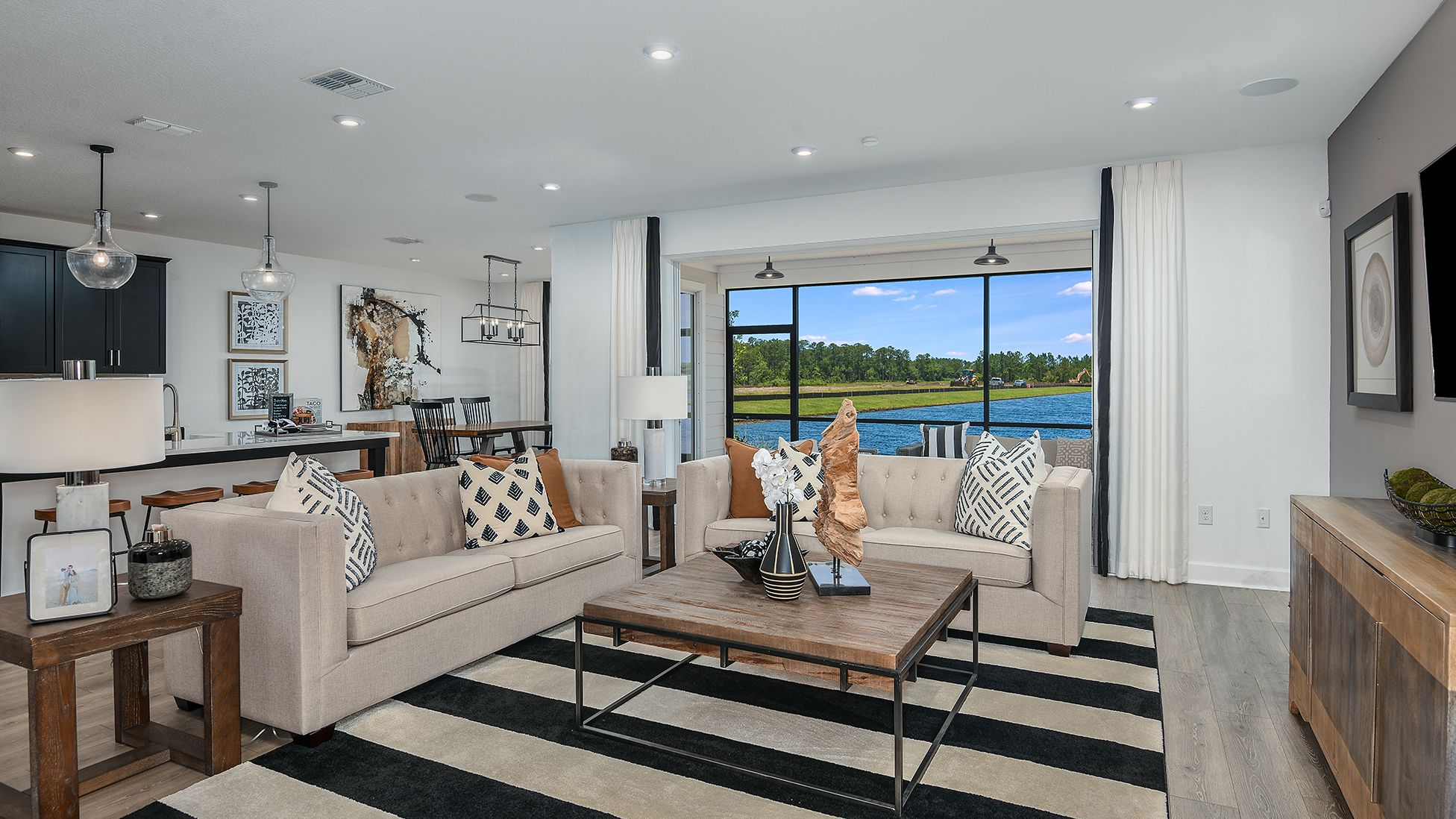 Living Area featured in the Sonora By Taylor Morrison in Jacksonville-St. Augustine, FL