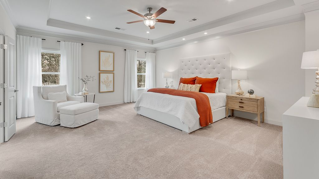 Bedroom featured in the Ivy By Taylor Morrison in Atlanta, GA