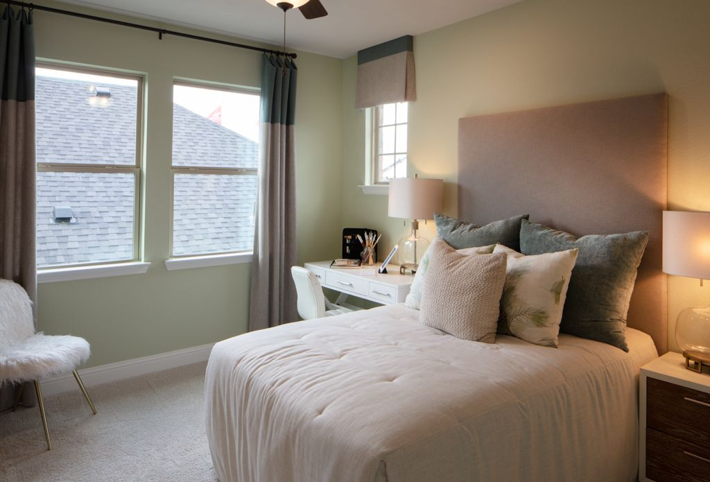 Bedroom featured in the Topaz By Taylor Morrison in Houston, TX
