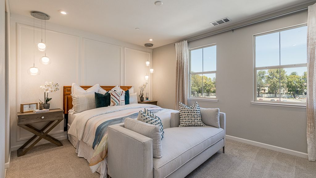 Bedroom featured in the Residence 1 By Taylor Morrison in San Jose, CA