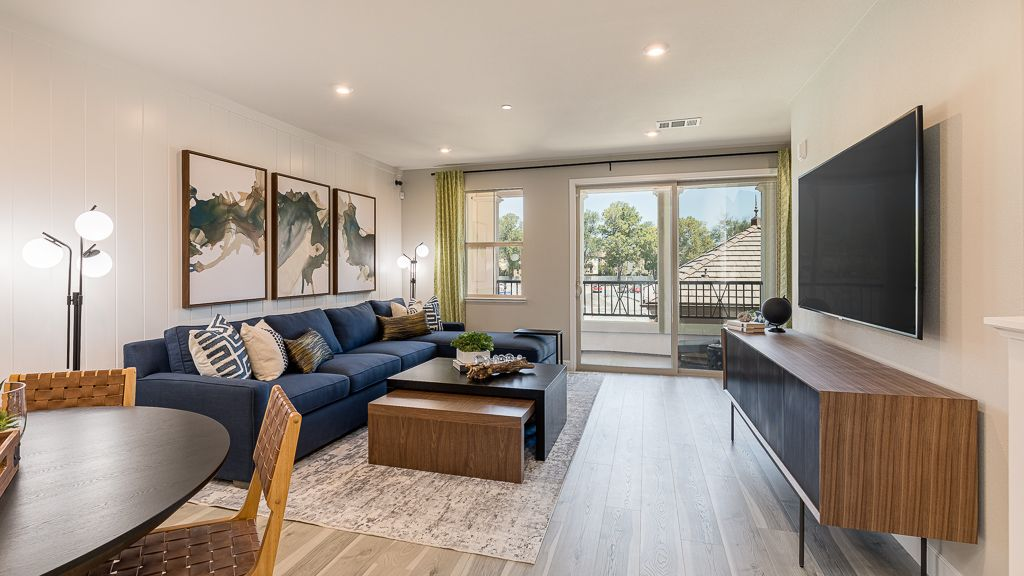 Living Area featured in the Residence 2 By Taylor Morrison in San Jose, CA
