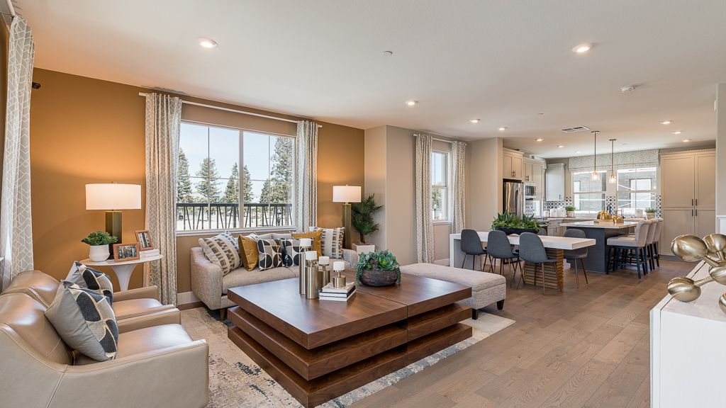Living Area featured in the Residence 3 By Taylor Morrison in San Jose, CA