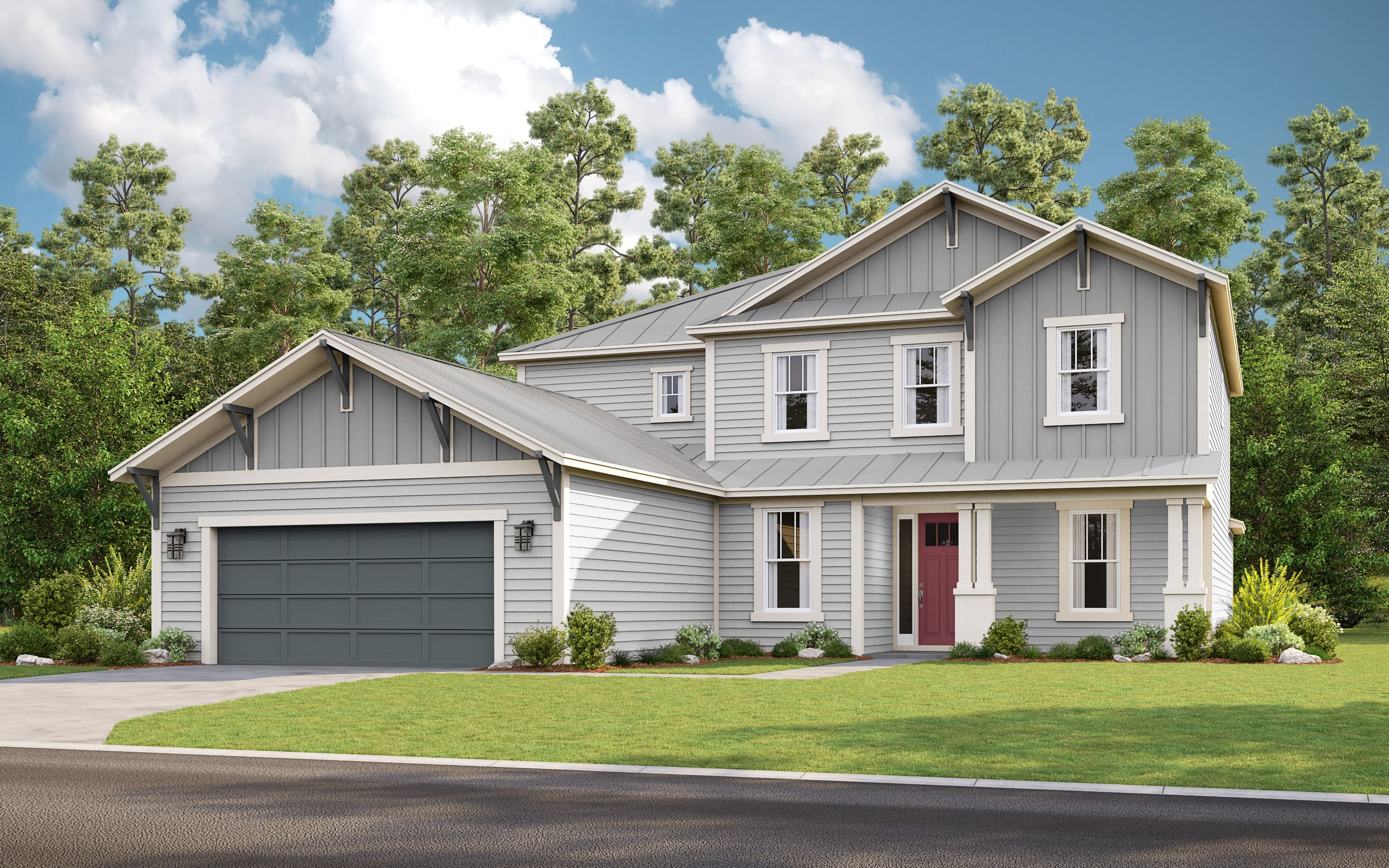 Exterior featured in the Sonora By Taylor Morrison in Jacksonville-St. Augustine, FL