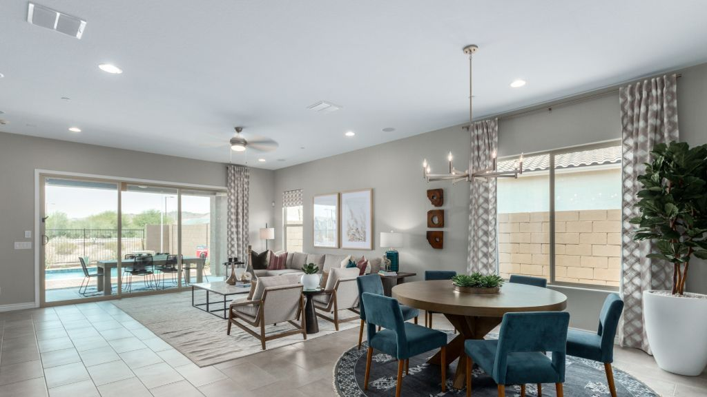 Living Area featured in the Breckenridge By Taylor Morrison in Phoenix-Mesa, AZ