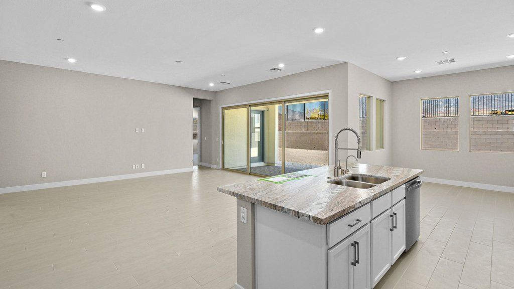 Kitchen featured in the Poppy By Taylor Morrison in Las Vegas, NV
