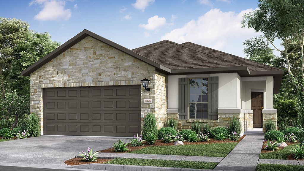Exterior featured in the Balsam By Taylor Morrison in Houston, TX