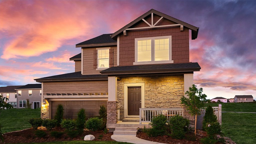 Exterior featured in the Torrey By Taylor Morrison in Denver, CO