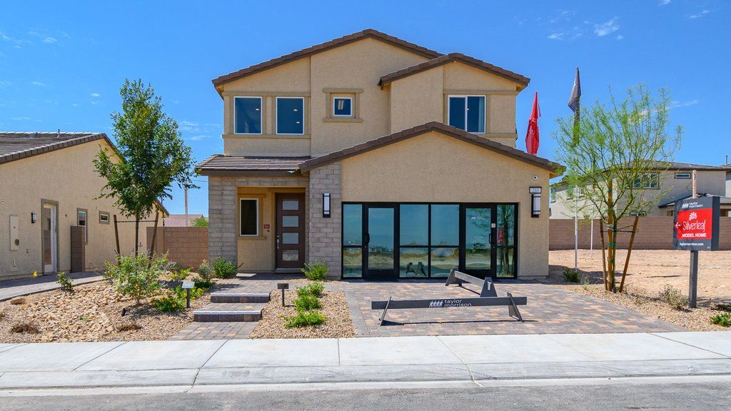 Exterior featured in the Juniper at Silverleaf By Taylor Morrison in Las Vegas, NV