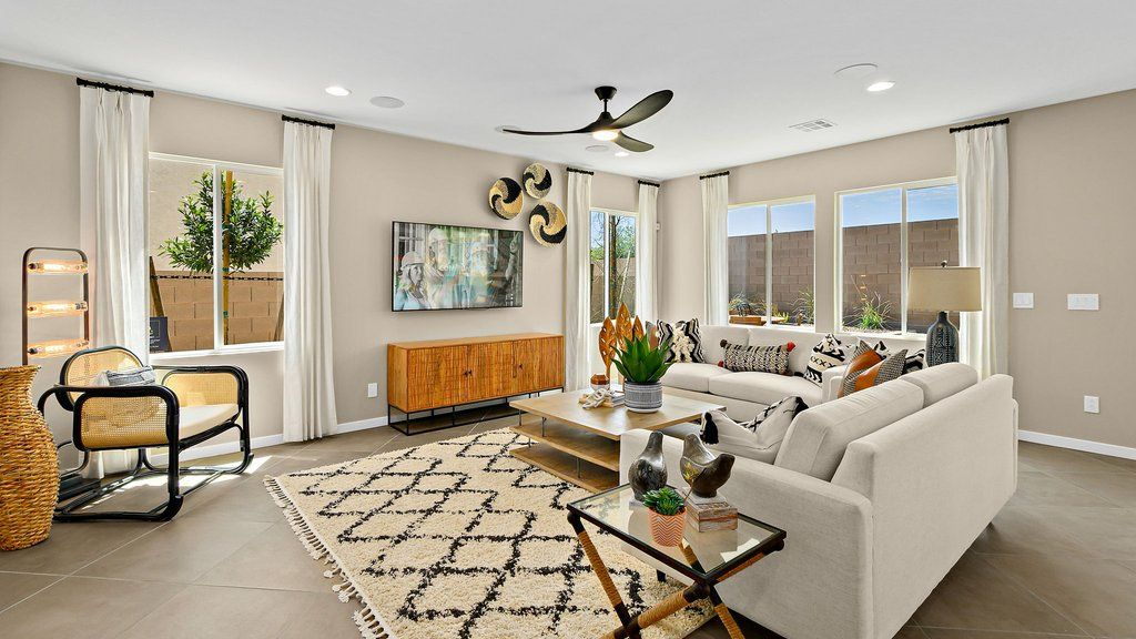 Living Area featured in the Juniper at Silverleaf By Taylor Morrison in Las Vegas, NV