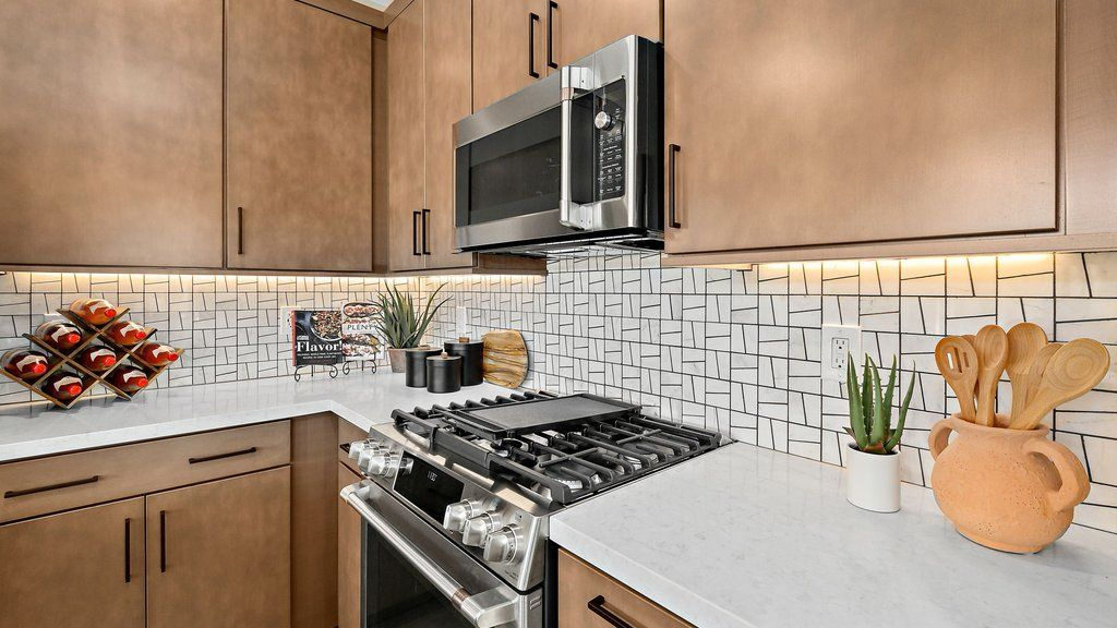 Kitchen featured in the Juniper at Silverleaf By Taylor Morrison in Las Vegas, NV