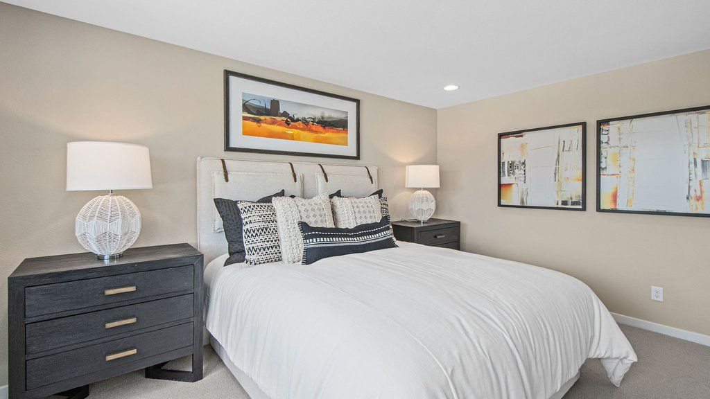 Bedroom featured in the Juniper at Silverleaf By Taylor Morrison in Las Vegas, NV