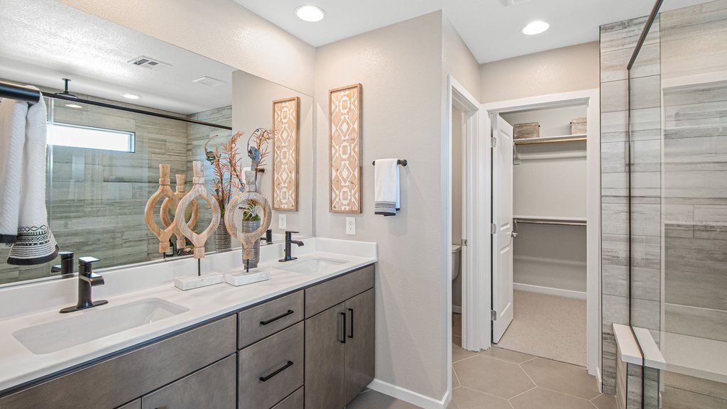 Bathroom featured in the 30 - Juniper By Taylor Morrison in Las Vegas, NV