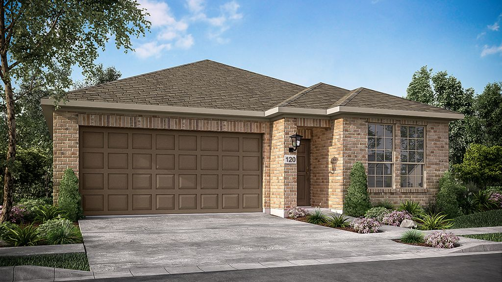 Exterior featured in the Dahlia By Taylor Morrison in Houston, TX