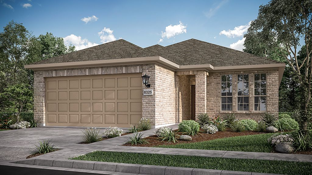Exterior featured in the Rosebay By Taylor Morrison in Houston, TX