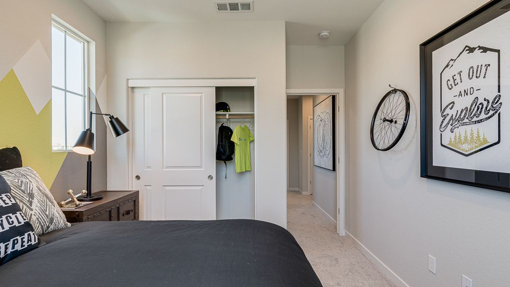Bedroom featured in the Residence 2 By Taylor Morrison in Oakland-Alameda, CA