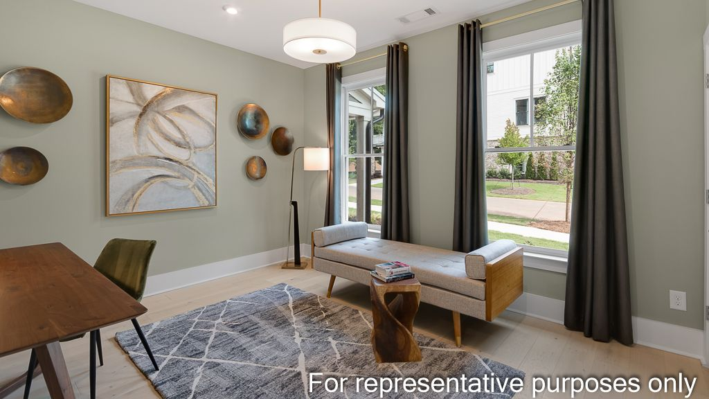 Living Area featured in the Newhaven By Taylor Morrison in Atlanta, GA