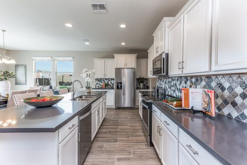 Kitchen-in-Palomino-at-Mills Run-in-San Tan Valley